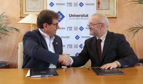 Firma del convenio UIB/SEEC