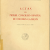 Actas del Primer Congreso Español de Estudios Clásicos