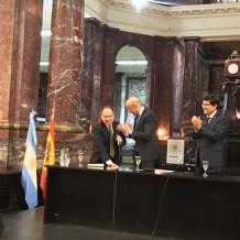 El Prof. Andrés Pociña Doctor honoris causa por la Universidad de Rosario, Argentina