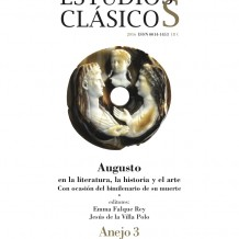 Augusto en la literatura, la historia y el arte con ocasión del bimilenario de su muerte – Anejo 3 de Estudios Clásicos (2016)