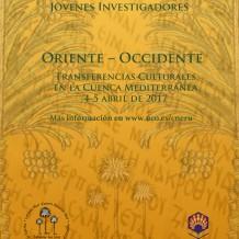 Congreso de Jóvenes Investigadores «Oriente y Occidente · Contactos culturales en el Mediterráneo»