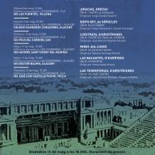 II Certamen escolar de teatro grecolatino · Alicante
