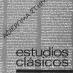 Estudios Clásicos 53 (1968)