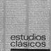 Estudios Clásicos 54 (1968)