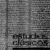 Estudios Clásicos 59 (1970)