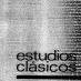 Estudios Clásicos 79 (1977)