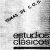Estudios Clásicos 81–82 (1978)