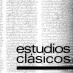 Estudios Clásicos 86 (1981–1983)
