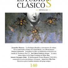 Estudios Clásicos 140 (2011)
