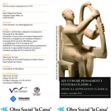 XIV Curs de Pensament i Cultura Clàssica Eivissa