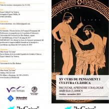 XV Curs de Pensament i Cultura Clàssica Ibiza