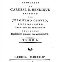 O Humanismo Português e Europeu: no 5º centenário do Cicero Lusitanus, Jerónimo Osório (1515-1580)