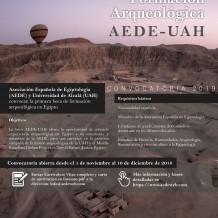 I Beca de formación arqueológica AEDE-UAH: prácticas arqueológicas en Deir el-Bahari (Luxor, Egipto)