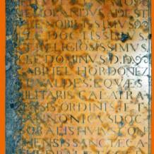 ¿Cómo se lee una inscripción? (V)