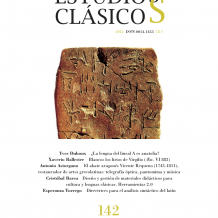 Estudios Clásicos 142 (2012)