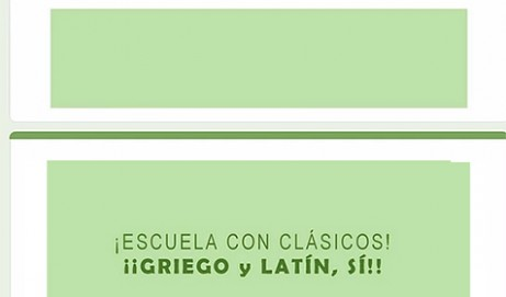 Encuesta situación del Latín y Griego en los centros educativos Curso 2020/21