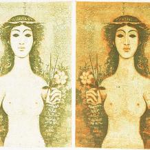 Dimitri Papagueorguiu, el arte tradicional de la estampa