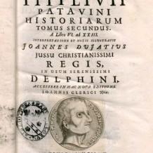 Concursos Bimilenario de la muerte de Tito Livio