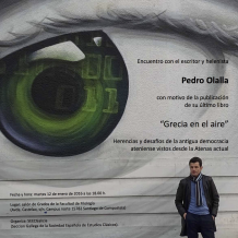 Encuentro con Pedro Olalla
