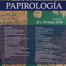 VIII Jornadas de Papirología