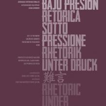 «Retórica bajo presión»: Jornadas Internacionales en homenaje al profesor Juan Lorenzo