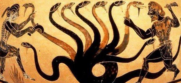 Hércules y la hidra de Lerna
