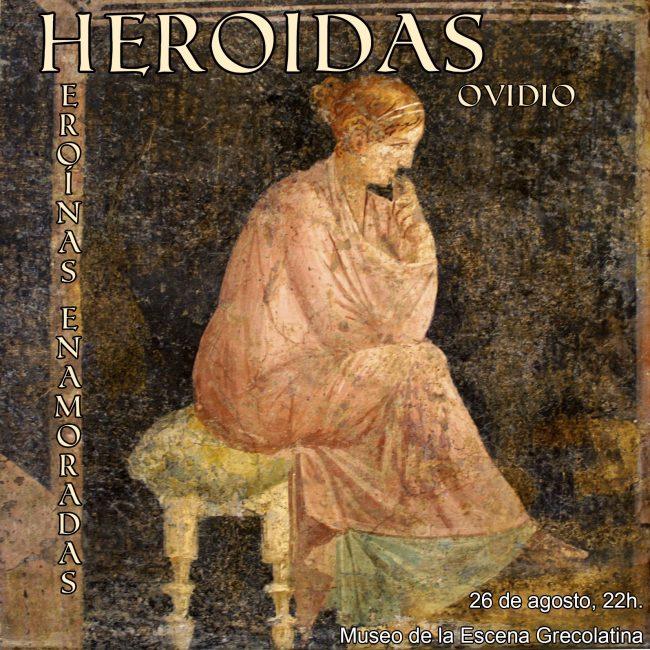 Cartel Heroidas con fecha