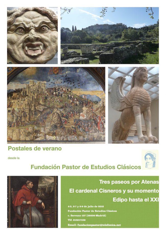 Poster Postales de verano