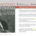 """Presentación del libro """"Antonio Fontán, un héroe de la libertad"""""""
